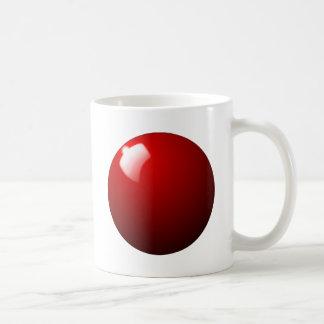 Mug Sport rouge de Tableau de boule de billard