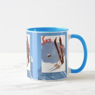 Mug Sports d'hiver - substance de ski