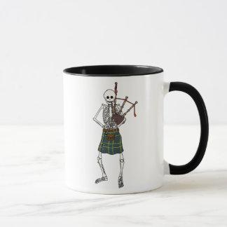 Mug Squelette de joueur de cornemuse