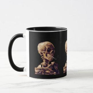 Mug Squelette de tabagisme par Van Gogh