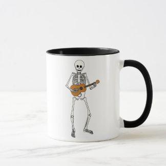 Mug Squelette d'ukulélé