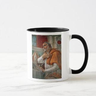 Mug St Augustine en sa cellule, c.1480
