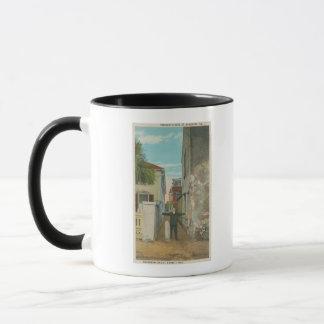 Mug St Augustine, FL - vue de rue de trésor et