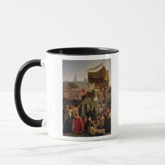 Mug St Bernard prêchant la deuxième croisade