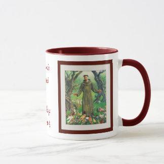 Mug St Francis d'Assisi