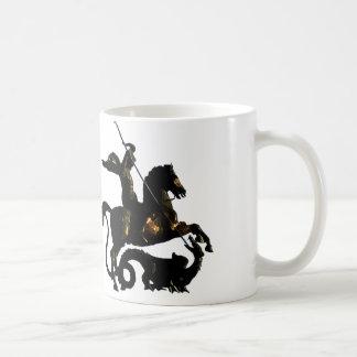 Mug St George massacrant le dragon