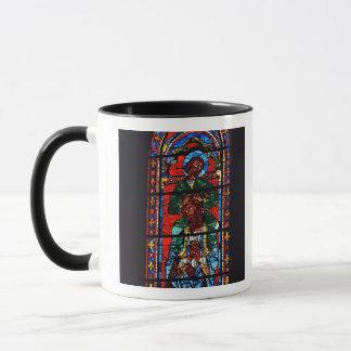Mug St John l'évangéliste montant les épaules d'Ez