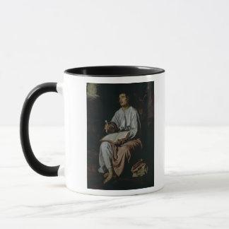 Mug St John l'évangéliste sur l'île de