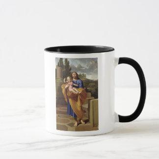 Mug St Joseph portant Jésus infantile, 1665