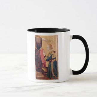 Mug St Louis de Toulouse couronnant son frère