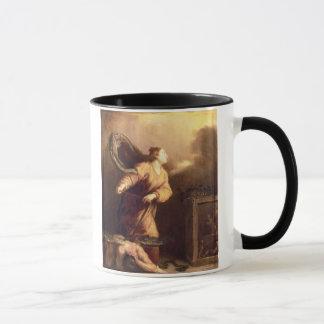 Mug St Margaret près du diable vaincu (panneau)