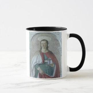 Mug St Mary Magdalene, 1466 (fresque) (détail) (voyez