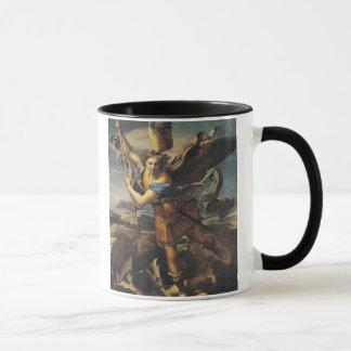 Mug St Michael accablant le démon, 1518