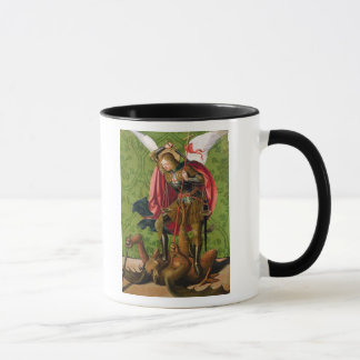 Mug St Michael tuant le dragon
