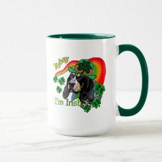 Mug St patrick de Coonhound de Bluetick