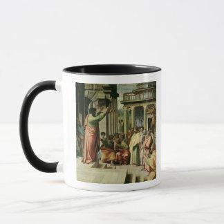 Mug St Paul prêchant à Athènes (bande dessinée pour le