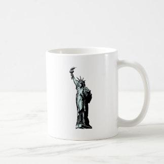Mug Statue du dessin de liberté