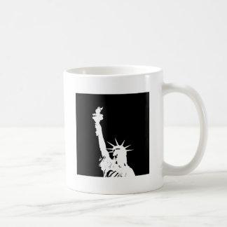 Mug Statue noire et blanche d'art de bruit de