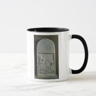 Mug Stela de Si'gabbor, prêtre du dieu de lune