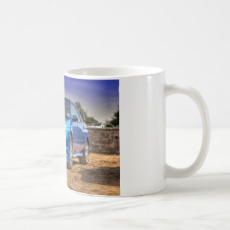 "Mug STi de Subaru Impreza ""Hawkeye"" dans le bleu"
