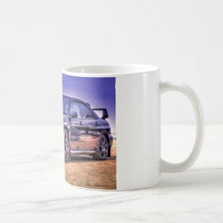 Mug STi noir de Subaru Impreza WRX