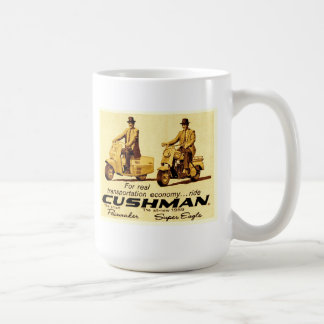 Mug Stimulateur de Cushman et scooters superbes