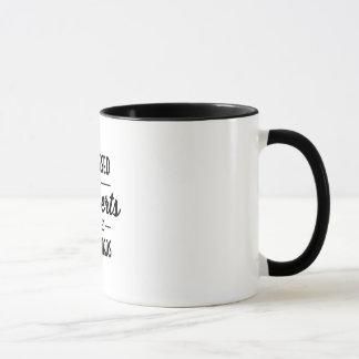Mug Stressed est des desserts écrits vers l'arrière