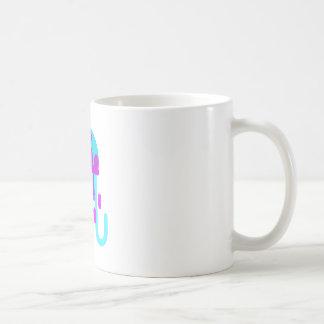 Mug Style de primitif de méduses