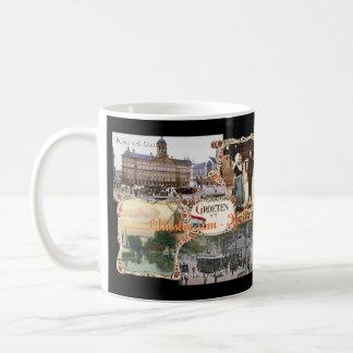 Mug Style vintage Hollande vieil Amsterdam