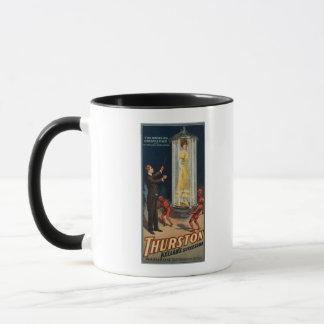 Mug Successeur de Thurston Kellar - femme dans l'eau