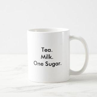 Mug Sucre de Tea.Milk.One