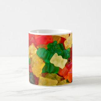 Mug Sucrerie colorée par arc-en-ciel gommeux d'ours