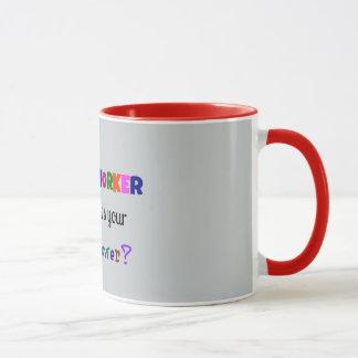 Mug Super pouvoir d'assistant social