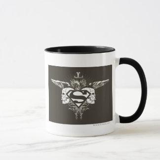 Mug Superman a stylisé le logo de crânes d'obscurité