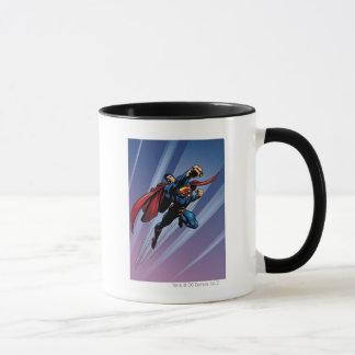 Mug Superman avec les stries claires