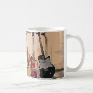 Mug Support des guitares