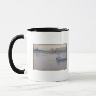Mug Sur la rivière, matin, 1896