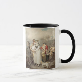 Mug Sur la route, 1799 (la semaine au-dessus des