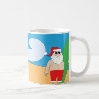 Mug Surfer Père Noël