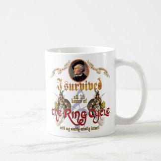 Mug Survivant de cycle d'anneau
