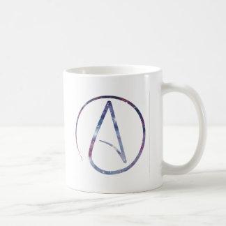 Mug Symbole d'athée de l'espace