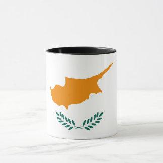 Mug Symbole de drapeau de pays de la Chypre longtemps