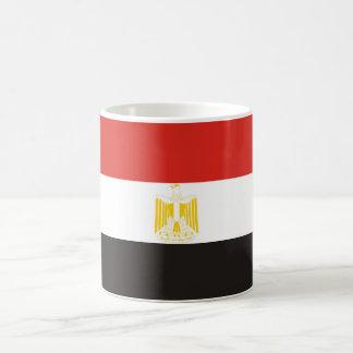 Mug symbole de drapeau de pays de l'Egypte longtemps