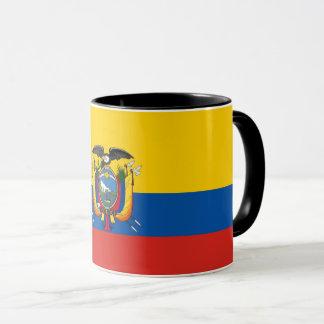 Mug Symbole de drapeau de pays de l'Equateur longtemps