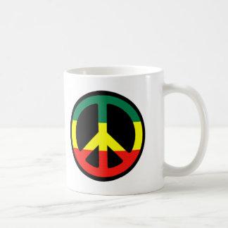 Mug Symbole de paix de Rasta