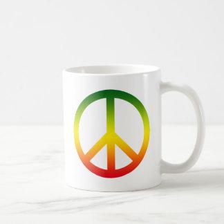 Mug Symbole de paix Rasta