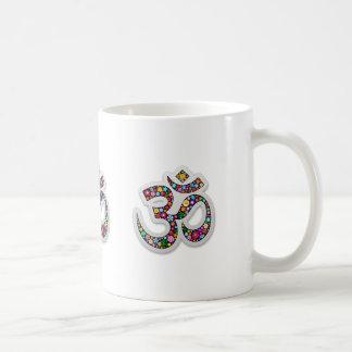 Mug Symbole de yoga d'Aum Namaste d'ohm de l'OM