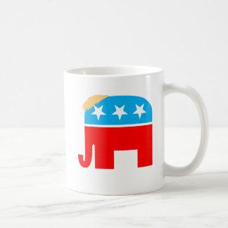 Mug Symbole du Président Trump Hair GOP Elephant