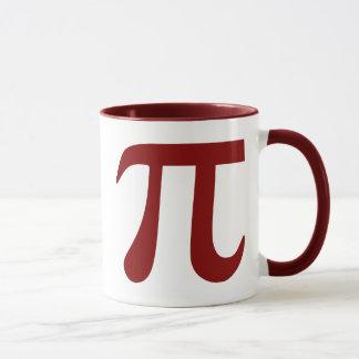 Mug Symbole marron de pi