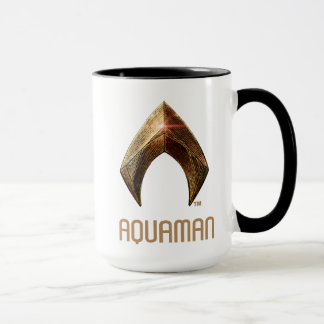 Mug Symbole métallique de la ligue de justice  